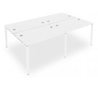 Стол офисный Metal System Style Б.СМ-4.2