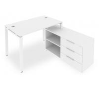 Стол письменный Metal System Style Б.РС-СТС-2.2 (R)