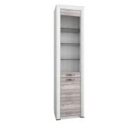 Шкаф-витрина Olivia 1V1D