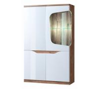 Шкаф-витрина Evora 1V3D P