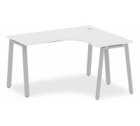 Стол офисный Metal System БА.СА-3 (R)