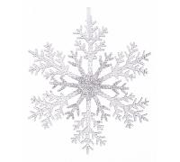 Елочная игрушка (32 см) Снежинка 788-072