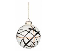 Елочный шар (8 см) Круги 862-299
