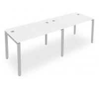 Стол офисный Metal System Style Б.СМ-2.2
