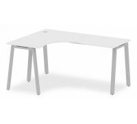 Стол офисный Metal System БА.СА-4 (L)