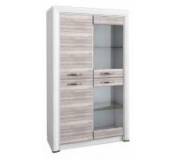 Шкаф-витрина Olivia 2V2D