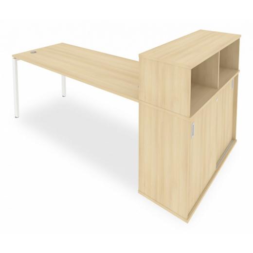 Стол письменный Metal System Style Б.РС-СШК-3.5