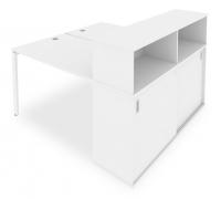 Стол письменный Metal System Style Б.РС-СШК-2.2