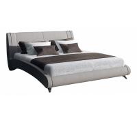 Кровать двуспальная с матрасом и подъемным механизмом Rimini 180-190