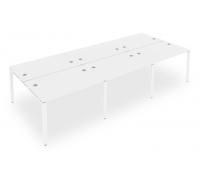 Стол офисный Metal System Style Б.СМ-6.2