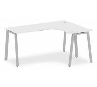 Стол офисный Metal System БА.СА-4 (R)