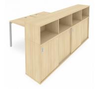 Стол письменный Metal System Style Б.РС-СШК-4.2