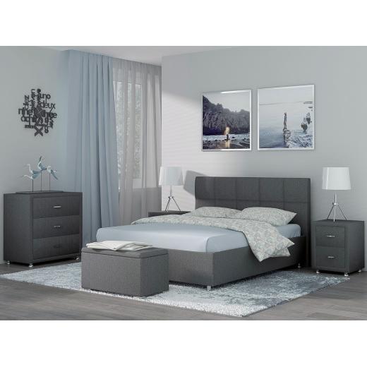 Кровать двуспальная с матрасом и подъемным механизмом Richmond 160-200