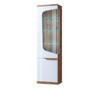 Шкаф-витрина Evora 1V1D L