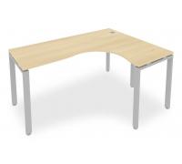 Стол офисный Metal System Style Б.СА-4 (R)