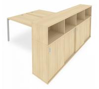 Стол письменный Metal System Style Б.РС-СШК-4.4