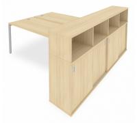 Стол письменный Metal System Style Б.РС-СШК-4.5