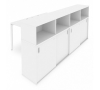 Стол письменный Metal System Style Б.РС-СШК-4.1