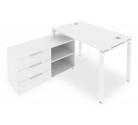 Стол письменный Metal System Style Б.РС-СТС-2.2 (L)