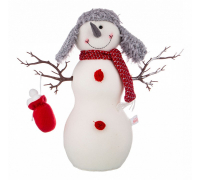 Снеговик (36х11х40 см) Снеговик 476-136