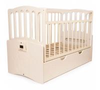 Детская автоматическая кроватка «Укачай-ка» 03 Ваниль