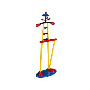 Детская костюмная вешалка Клоун жёлтый/красный/синий