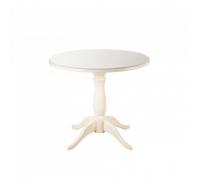 Стол обеденный Мауро слоновая кость 90х90
