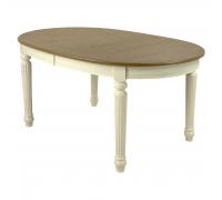 Стол обеденный SHARL MK-1256-BW Бежевый/Белый