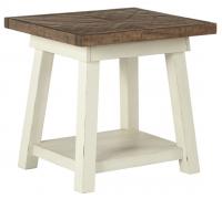 Журнальный столик Stownbranner T640-3 Белый/Коричневый