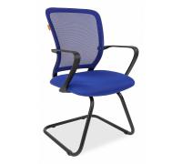 Кресло Chairman 698 V синее
