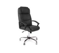 Кресло компьютерное «Бергамо» (Bergamo) хром